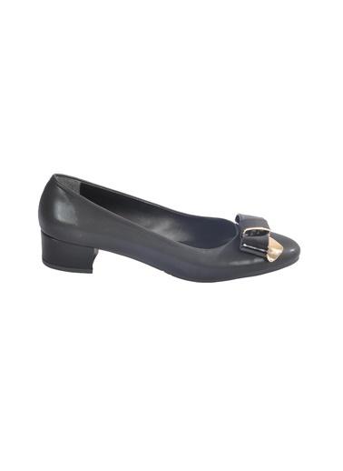 Maje 2632 Platin-Sıvama Kadın Topuklu Ayakkabı Siyah